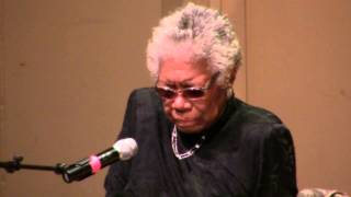 Lay My Burden Down: Maya Angelou
