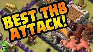 GOHO IS THE BEST TH8 ATTACK! - GoHo Strategy Breakdown - Clash of Clans - How to TH8 GoHo!