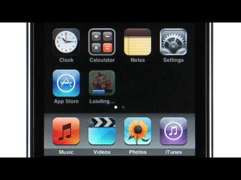 iPod touch 2G Funktionsübersicht (Deutsch)