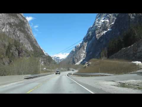 Stalheim-Gudvangen, scenic roads of Norway