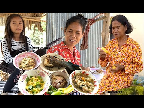 1st Day of Khmer New Year 2018 at Kong Pisey District in Kampong Speu