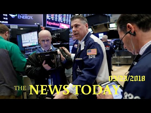 Wall Street Nosedives As Investors Flee On Trade War Fears | News Today | 03/23/2018 | Donald Trump