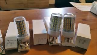 Tests sur des ampoules LED