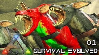 ARK: ABERRATION MODDED - EPIC START & RAVAGER ARMY !!! E01 ( GAMEPLAY ARK: SURVIVAL EVOLVED )