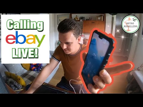LIVE Call To EBay About A Buyer Abusing The Returns Policy - Listing Hangout