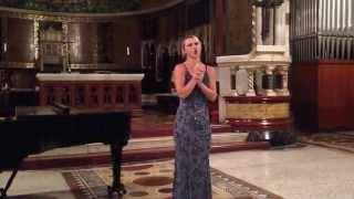 Quando Men Vo (1st Concert in Rome)
