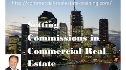 Commercial Real Estate Commissions Rates - Commercial Real Estate Training online