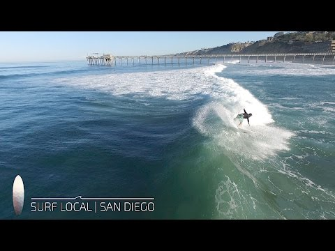 Surf Local | San Diego | La Jolla | Surfing Scripps | 11.11.16