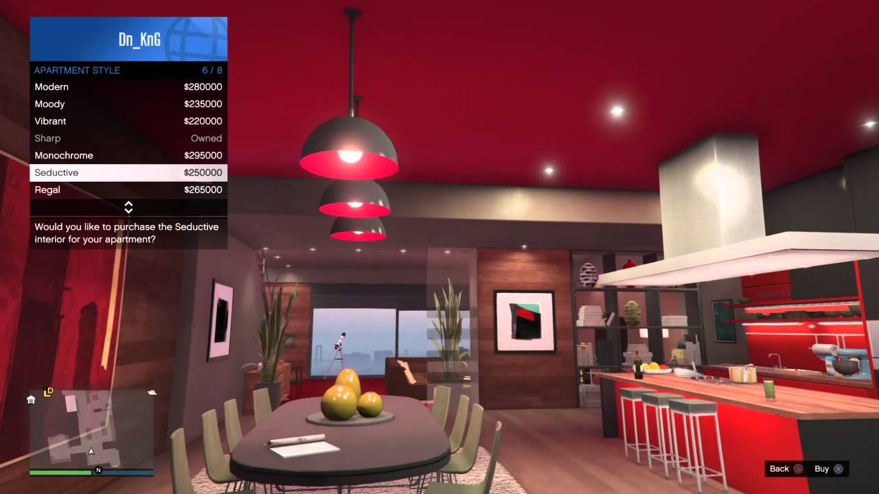 Gta 5 change apartment interior latest bestapartment 2018 for Designer apartment gta 5