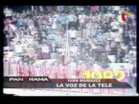 Iván Márquez: la voz de la tele en Panamericana Televisión 12