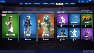 *NEW*Match Point Skin & Leviathan Back! Fortnite Item Shop July 1, 2019