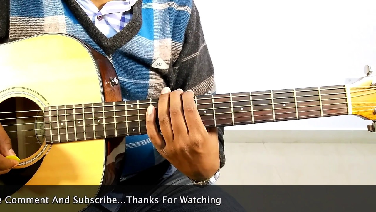 Dheere Dheere Se Aashiqui Complete Easy Guitar Lessons Youtube