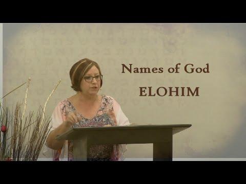 Names of God, ELOHIM, Teacher Venita Page