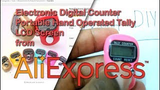 Digital tally counter | Digital tally counter from aliexpress | Digital goal counter