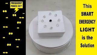 How to make a Smart Dark Sensing Automatic On-Off Emergency Light at Home