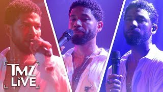 Jussie Smollett Hits The Stage For First Time Since Attack | TMZ Live