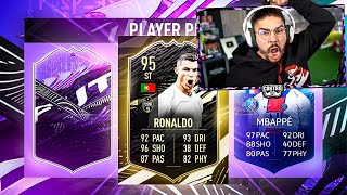 95 INFORM RONALDO IN A PLAYER PICK PACK!! NO WAY!!!!! FIFA 21