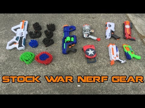 Stock Blaster NERF War? Here's what I would bring.
