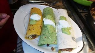 How to make Beef Tortilla Wraps  Chili Beef Tortilla Wraps