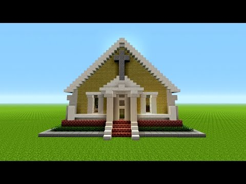 Minecraft: How To Build A CHURCH | EASY | Minecraft SURVIVAL House | Tutorial