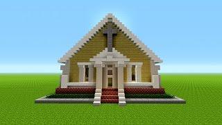 minecraft church build easy survival tutorial