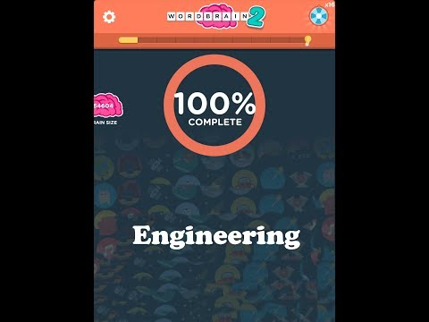 Wordbrain 2 Engineering Answers