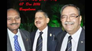 256th  Army Service Corps  Day @ Bengalooru  :   07/ 08  Dec 2016 Dinner/  Wreath Laying   ceremony