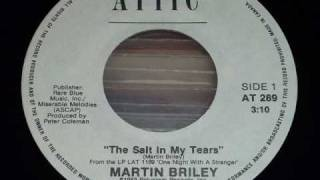 "Martin Briley ""The Salt In My Tears"" 45rpm"