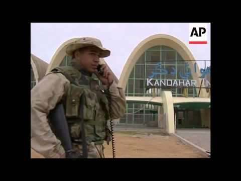 US marines at airport and preparations in desert - YouTube