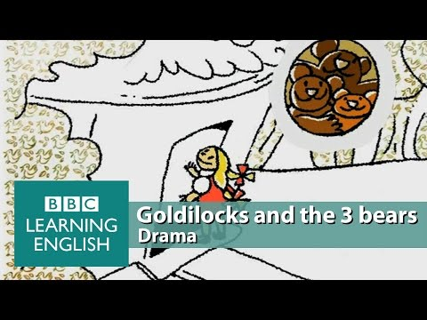 Using 'too', 'very' and 'enough' - Goldilocks and the three bears
