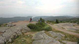 Acadia National Park Cadillac Mountain Maine USA