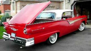 1957 Ford Fairlane Convertible Retractable Hardtop