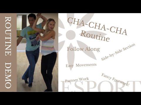 Open ChaCha routine - Ottawa Dance Sport