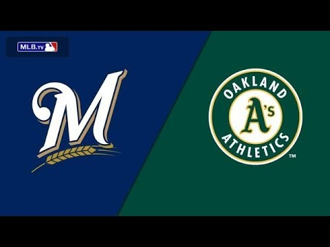 MLB Live Stream: Milwaukee Brewers Vs Oakland A's (Live Reactions & Play By Play)