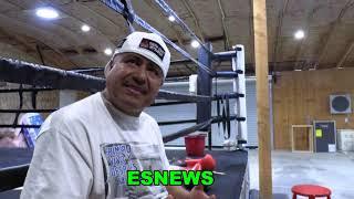 Robert Garcia Raw And Uncut Talks Crawford  EsNews Boxing