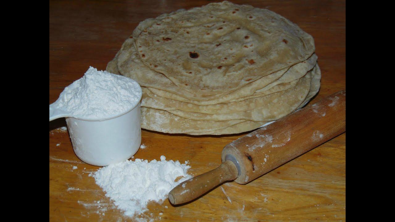 how to make tortillas de harina a mano