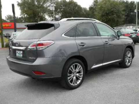 2014 lexus rx 350 pensacola fl youtube for Frontier motors pensacola fl