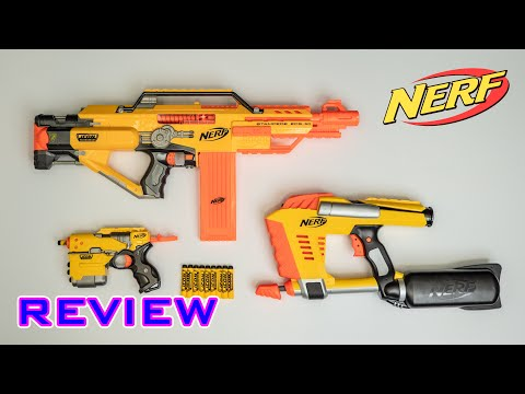 [REVIEW] Nerf Icon Series | Group Review: Stampede, Magstrike, & Element!