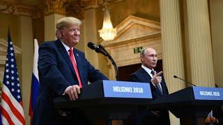 Trump reverses Russia remarks, says he misspoke at Putin summit
