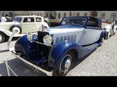 1937 Hispano-Suiza K6 - Exterior and Interior - Retro Classics meets Barock Ludwigsburg 2018