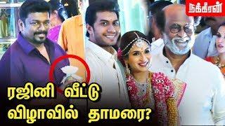தாமரையா ? ரோஜாவா ? பதறவைத்த பார்த்திபன் | Soundarya Rajinikanth And Vishagan Vanangamudi's Wedding
