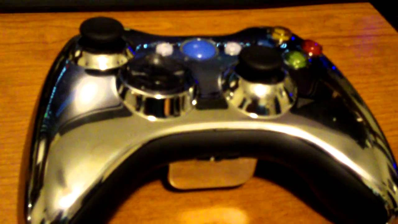 Xcm Wireless Controller Cases Chrome For Xbox 360 New D Pad Light