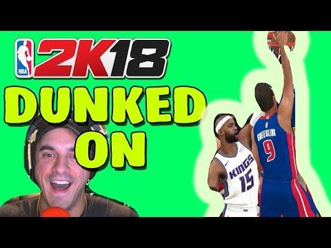 DUNKED ON #1 SLAM DUNK CHAMP | NBA2k18 MY CAREER #7