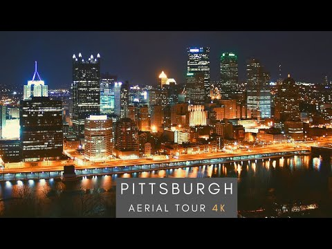 Downtown Pittsburgh - 4K AERIAL TOUR