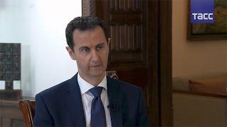 Асад назвал атаку на Пальмиру попыткой отвлечь внимание от Алеппо