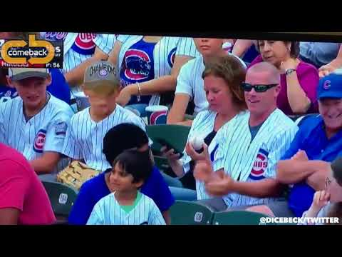 Tony Bristol - Cubs Fan Takes Ball From Kid