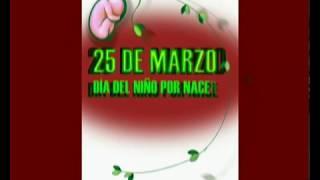 25 De Marzo, Día Del Niño Por Nacer - Animación