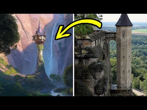 15 Disney Locations That Exist In Real Life!