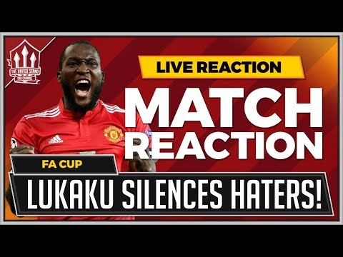 Huddersfield Town 0-2 Manchester United | LUKAKU Goals Win it in the FA CUP!