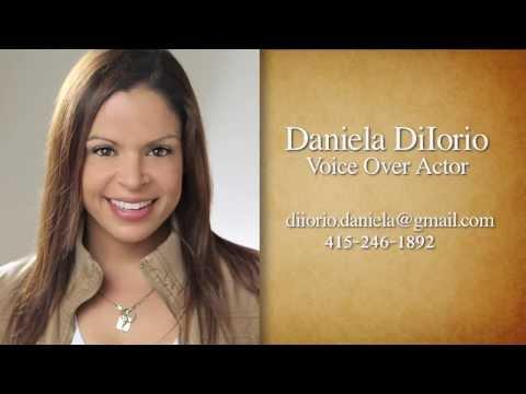 Daniela DiIorio Commercial Demo